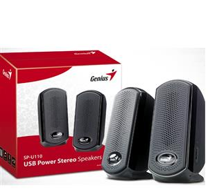 Genius SP-U110-Stereo-USB-Power-Speakers